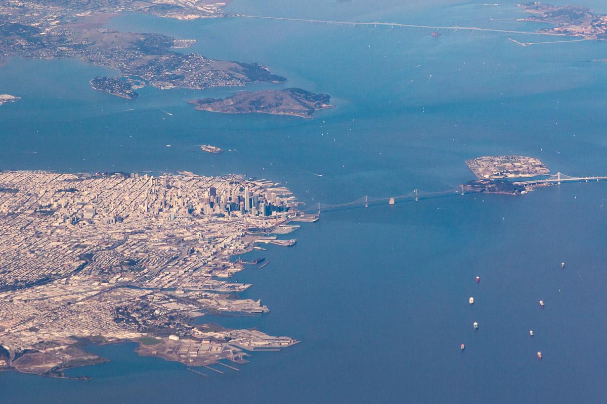 DEN-HNL photo San Francisco Bay Area 1