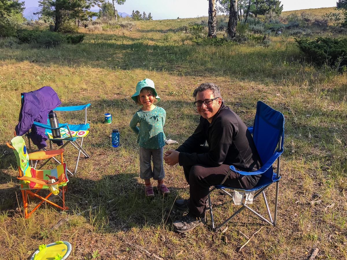 crested butte camping photo 1