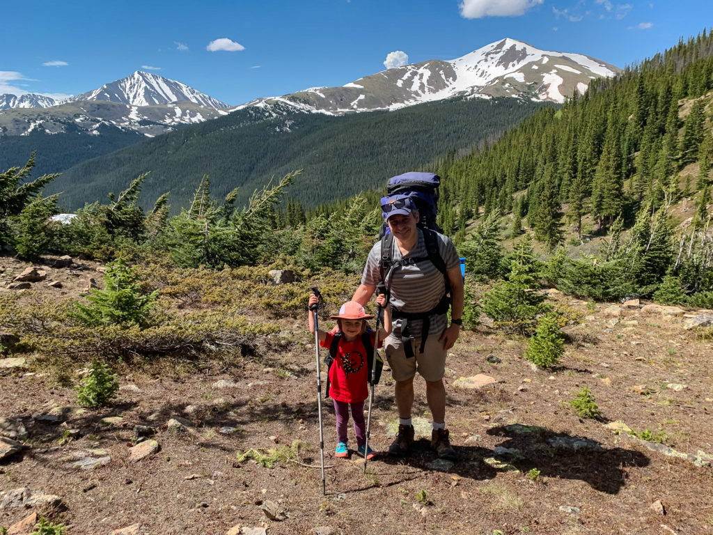 Colorado backpacking photos