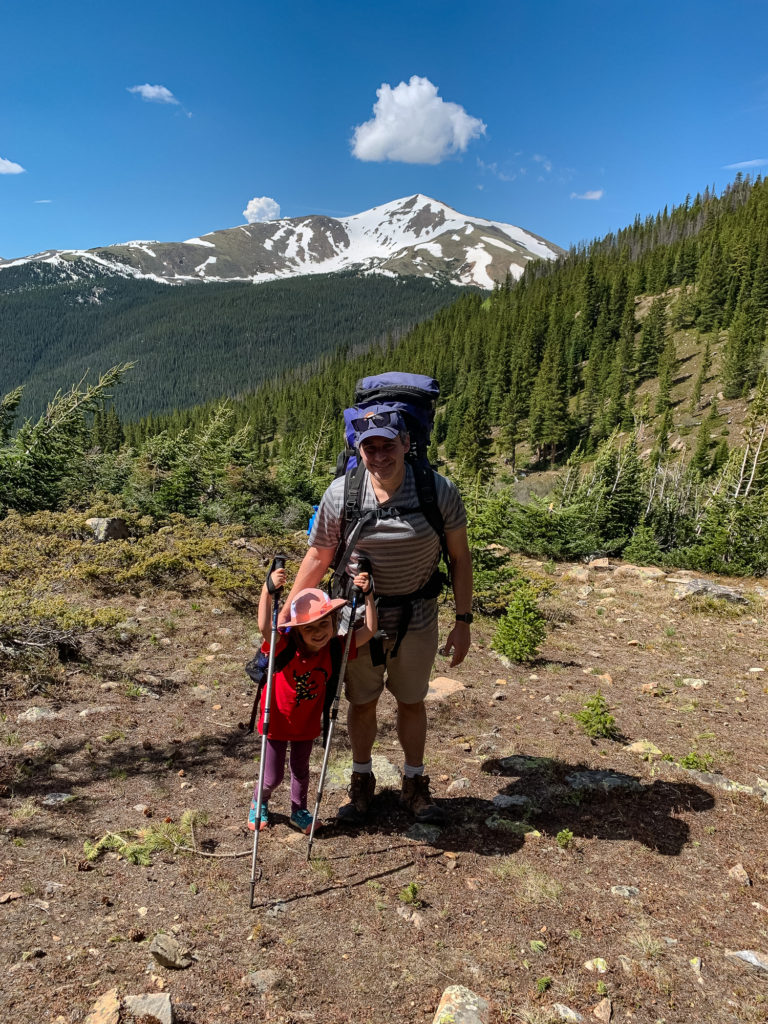 Colorado backpacking photos