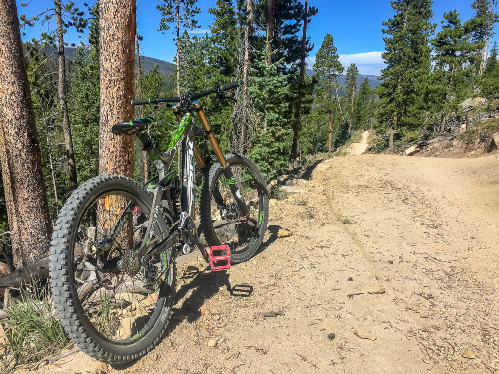 Photo of downhill mountain biking at Trestle Bike Park